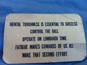 Lessons From Lombardi