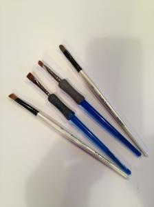 dusting brushes