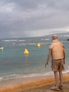 The Tinman watches.